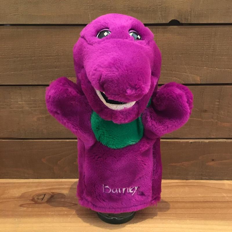BARNEY Barney Hand Puppet/バーニー ハンドパペット/181213-3