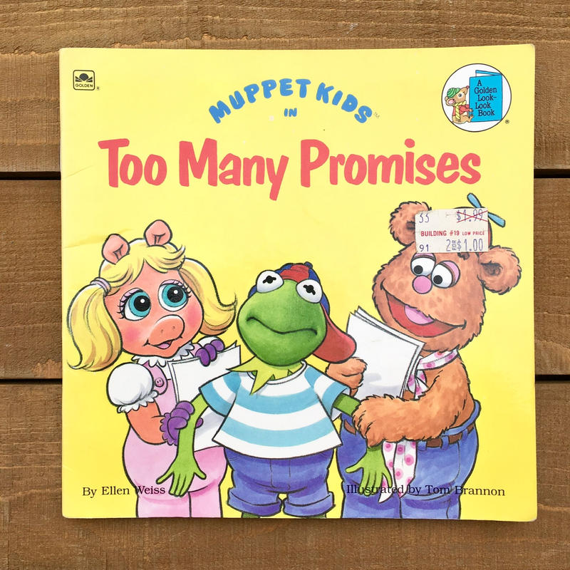 THE MUPPETS Picture Book/マペッツ 絵本/190216-4