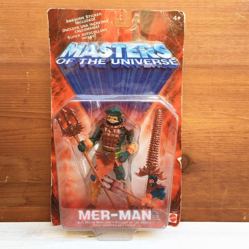 MOTU Mer-man Figure/マスターズオブザユニバース マーマン フィギュア/180111-1
