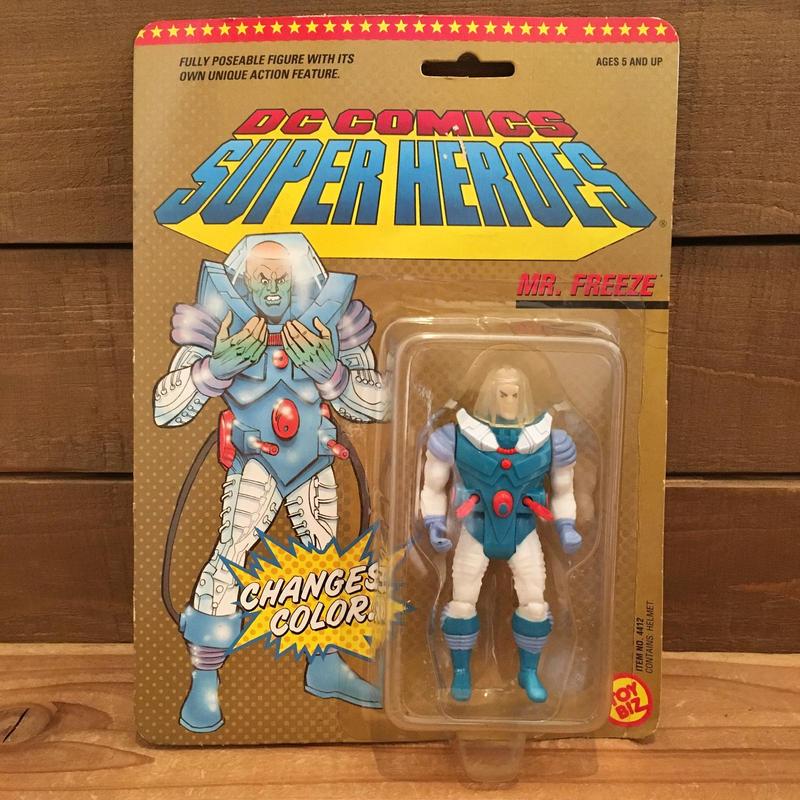 BAT MAN  DC Super Heroes Mr.Freeze Figure/バットマン DCスーパーヒーローズ Mrフリーズ フィギュア/190129-3