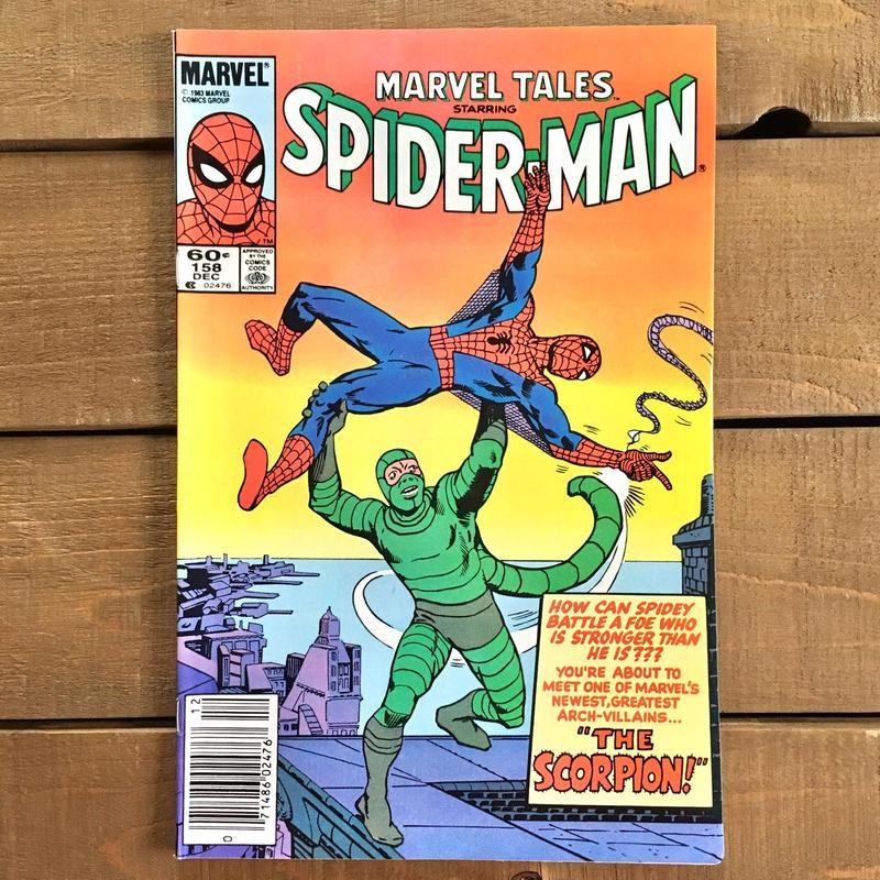 SPIDER-MAN Spider-man Comics 1983.Dec.158/スパイダーマン コミック 1983年12月158号/190228-11