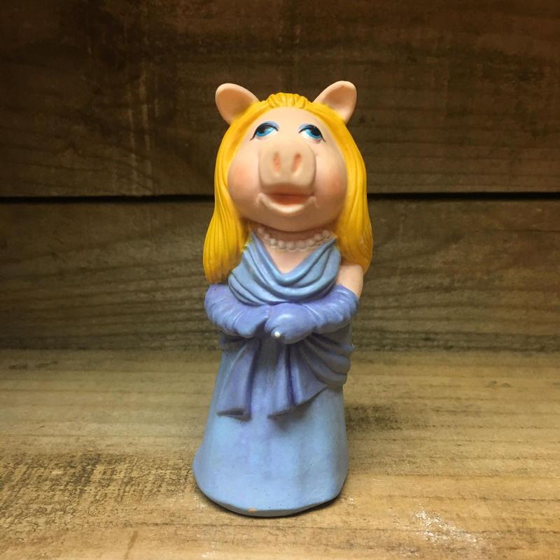 THE MUPPETS Miss Piggy Stick Puppet/マペッツ ミス・ピギー スティックパペット/181220-17