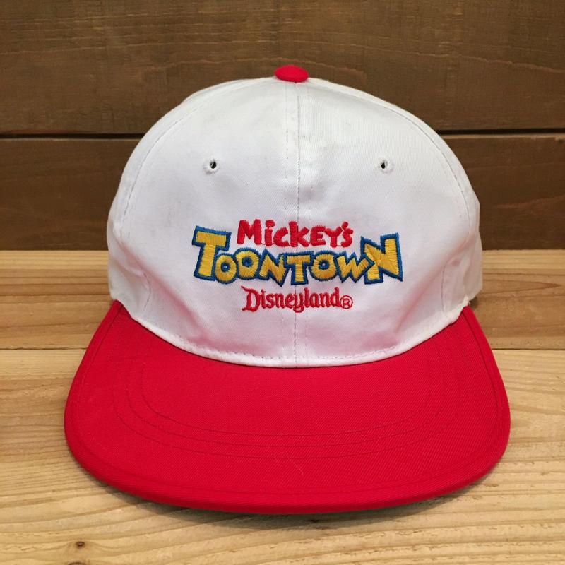 Disney Mickey's Toon Town Cap/ディズニー ミッキーのトゥーンタウン キャップ/190223-7
