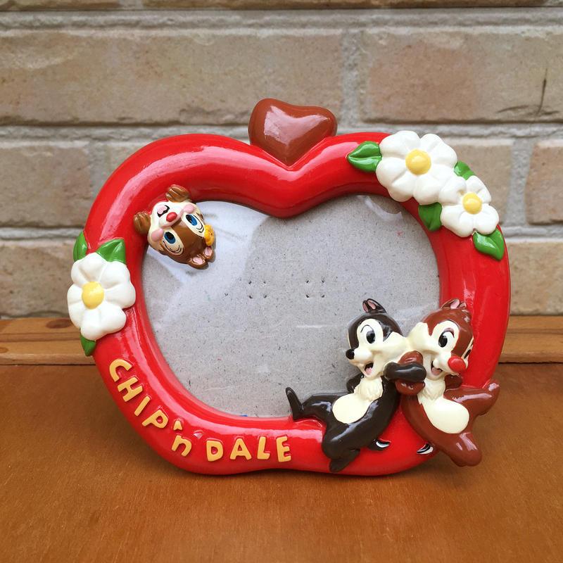 Disney Chip'n' Dale Photo Stand/ディズニー チップとデール フォトスタンド/171008-1
