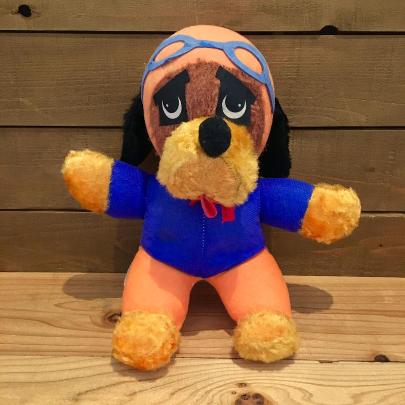 Pilot Dog Plush Doll/パイロット犬 ぬいぐるみ/190503-3