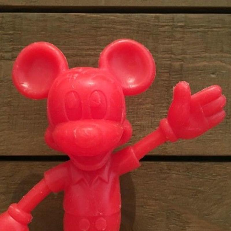 Disney Mickey Mouse Plastic Figure/ディズニー ミッキー・マウス プラスチックフィギュア/190622-4