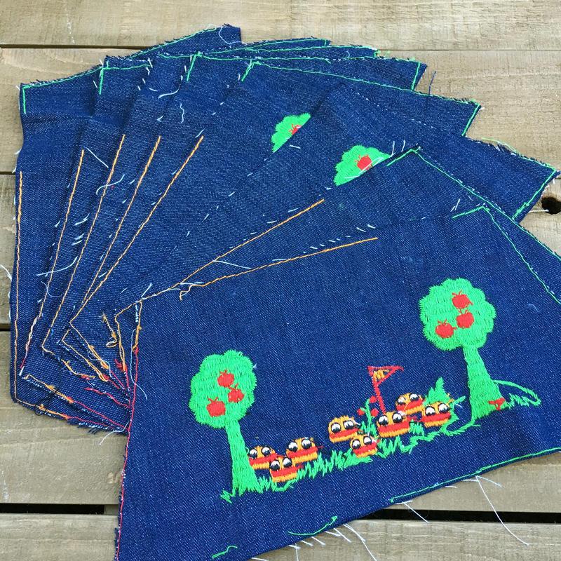 McDonald's Hamburger Cloth/マクドナルド ハンバーガー 生地/170111-6