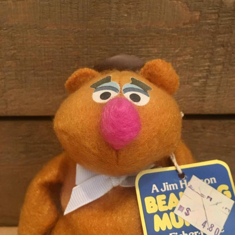 THE MUPPETS Beanbag Muppet Fozzie Bear/マペッツ ビーンバッグマペット フォジー・ベア/190613-7