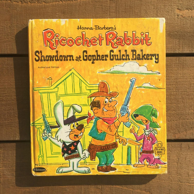 Ricochet Rabbit Picture Book/リコシェ・ラビット 絵本/181210-4