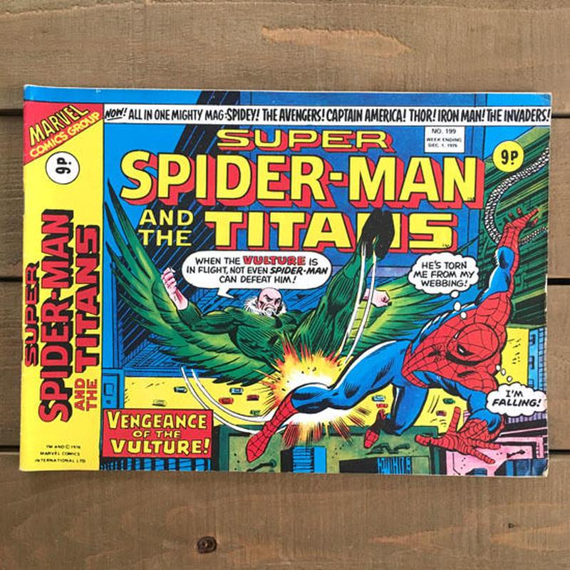 SPIDER-MAN Super Spider-man and the Titans Comics 1976.Dec.199/スパイダーマン コミック 1976年12月199号/190425-1
