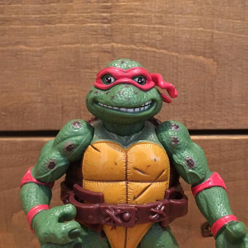 TURTLES Movie Star Raphael Figure/タートルズ ムービースター・ラファエロ フィギュア/190531-7