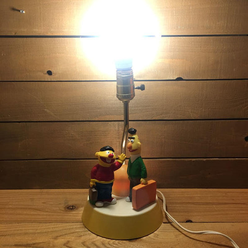 SESAME STREET Ernie&Bert Room Lamp/セサミストリート アーニー & バート ルームランプ/190417-14