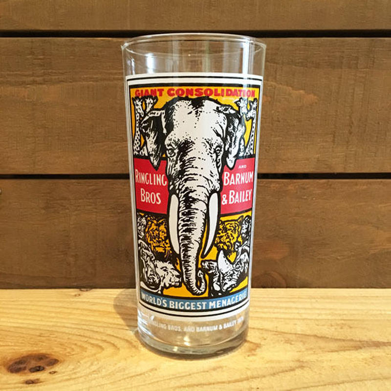 Ringling Bros. and Barnum & Bailey Circus Pepsi Collector Glass/バーナムのサーカス ペプシコレクター グラス/180720-4