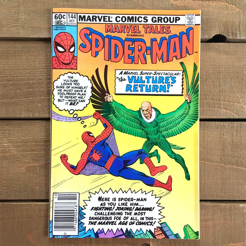 SPIDER-MAN Spider-man Comics 1982.Oct.144/スパイダーマン コミック 1982年10月144号/190228-4