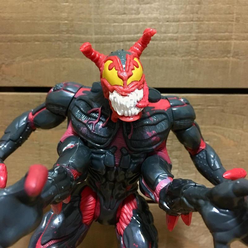 SPIDER-MAN Riot Figure/スパイダーマン ライオット フィギュア/181112-1