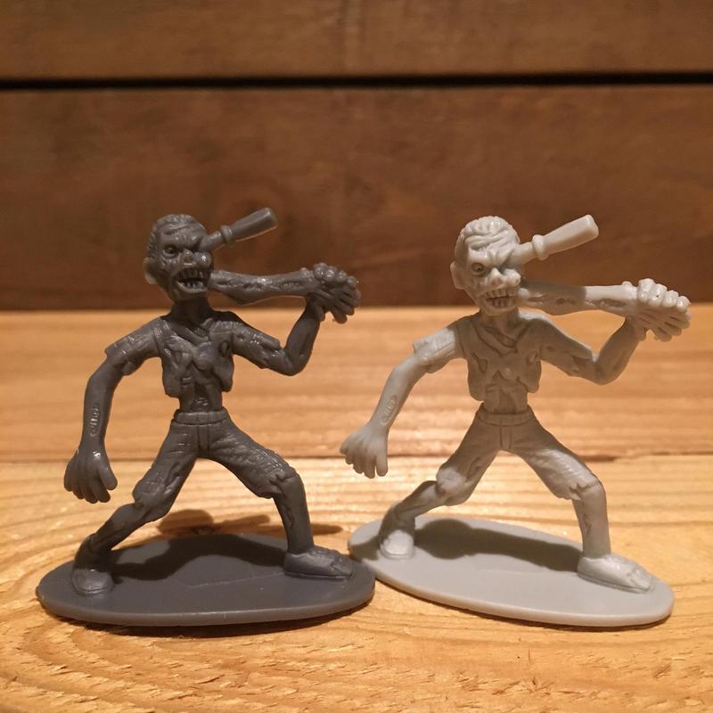 Horror Plastic Toy Zombie Style Figure/ホラープラスチックトイ ゾンビ風 フィギュア (バラ売り)/171206-20