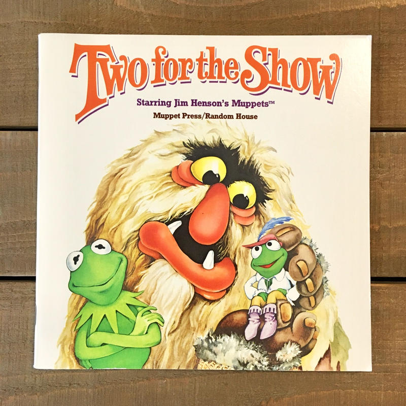 THE MUPPETS Picture Book/マペッツ 絵本/190617-3