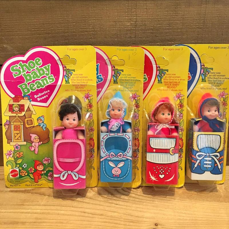 Shoe baby Beans 4pcs Full Complete Set/シューベイビーズ 4体種セット/190320-5