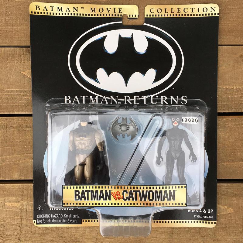 BATMAN Batman VS Catwoman/バットマン バットマンVSキャットウーマン フィギュア/170418-12