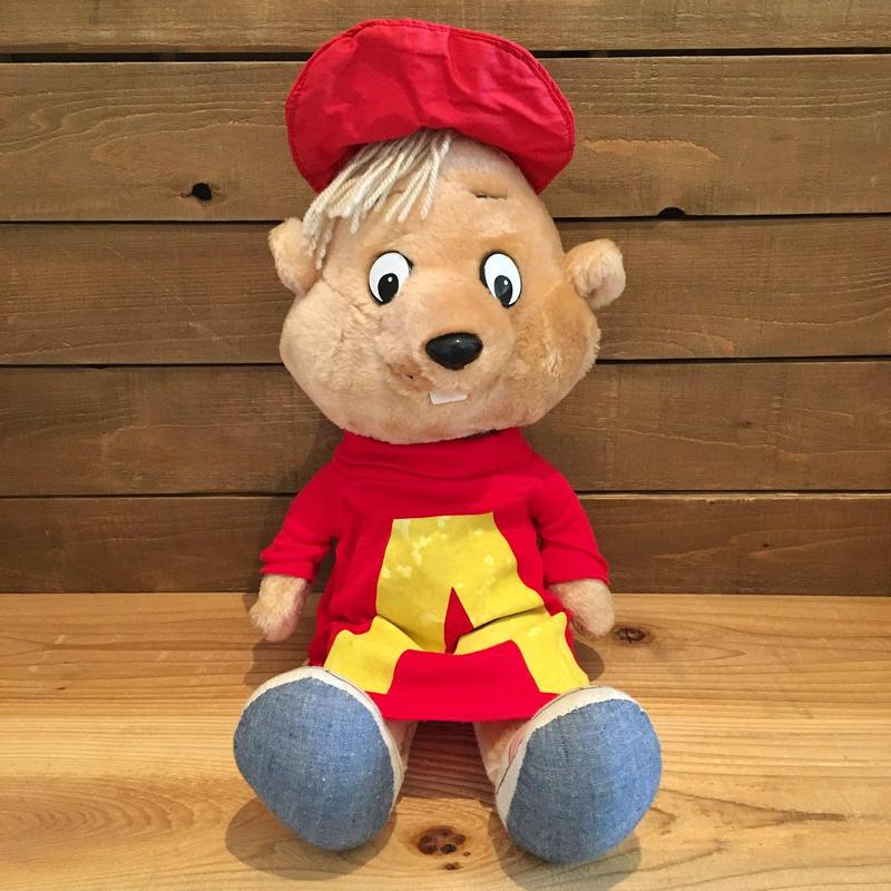 Alvin and the Chipmunks Alvin Talking Plush Doll/アルビンとチップマンクス アルビン トーキングぬいぐるみ/190529-10