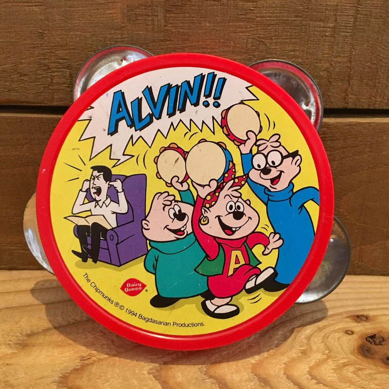 Alvin and the Chipmunks Tambourine/アルビンとチップマンクス タンバリン/1900318-1