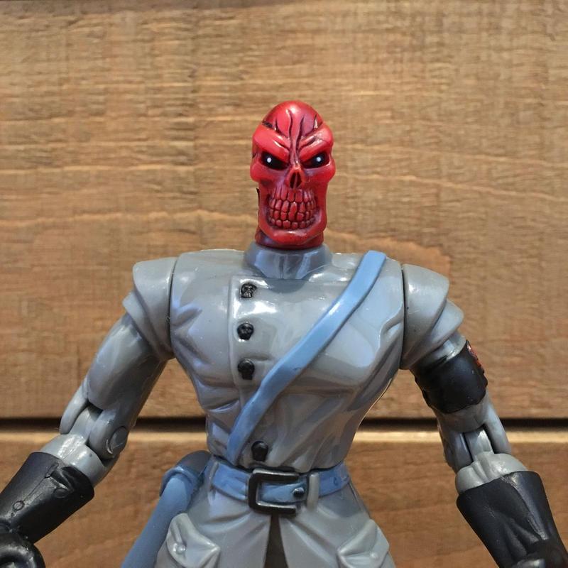 SPIDER-MAN  Red Skull Figure/スパイダーマン レッドスカル フィギュア/190523-3