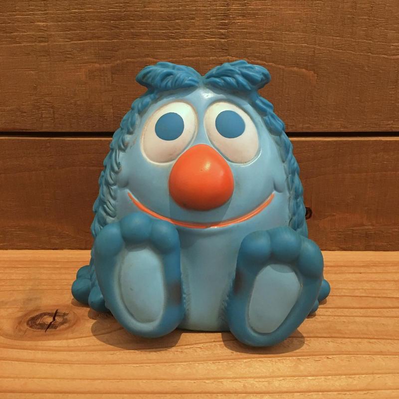 Blue Monster Rubber Doll/青いモンスター ラバードール/190326-5