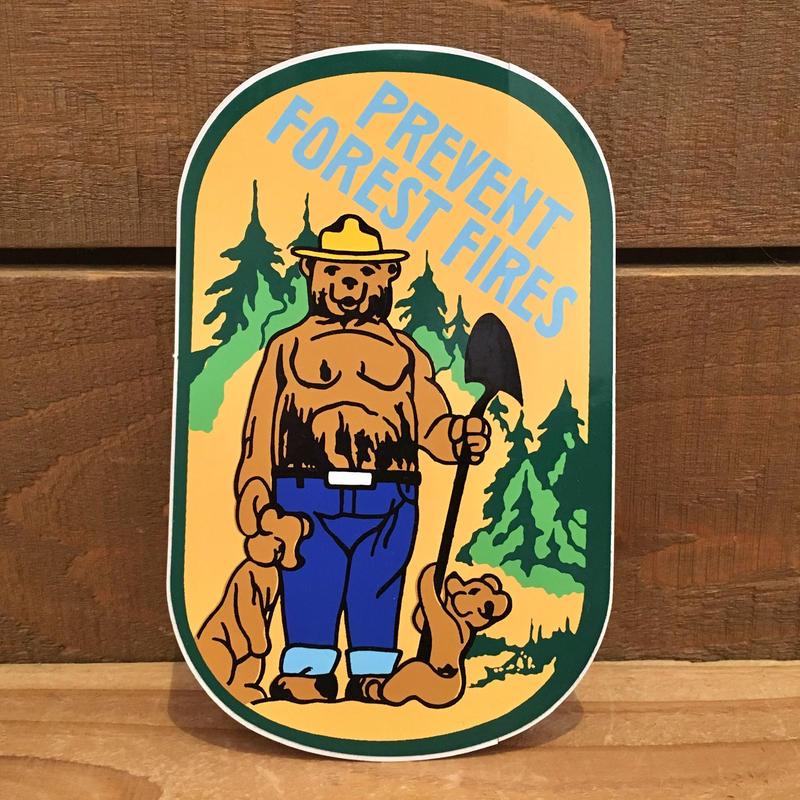 SMOKEY BEAR Sticker/スモーキーベア ステッカー/190118-9