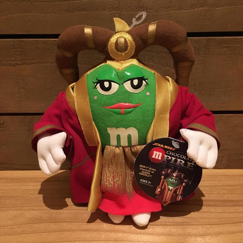 STARWARS Queen Amidala Plush Doll/スターウォーズ チョコレートm'パイア アミダラ女王 ぬいぐるみ/171216-19