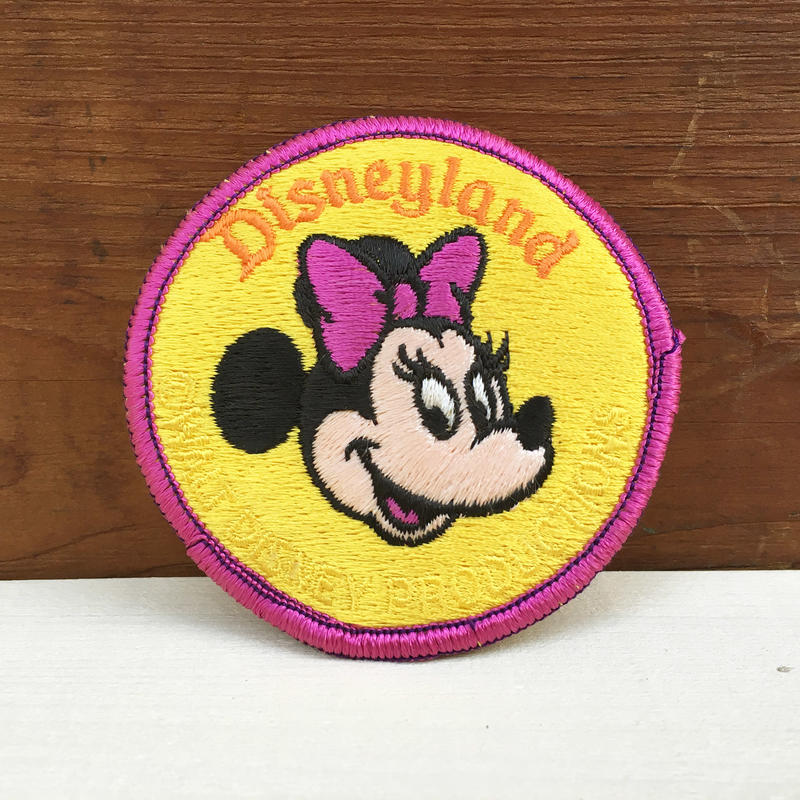 Disney Minnie Mouse Iron Patch/ディズニー ミニー・マウス アイロンパッチ/171215-11