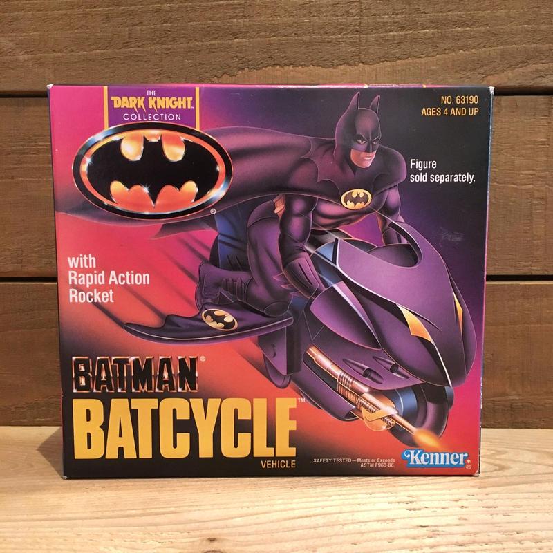 BATMAN Batcycle Figure/バットマン バットサイクル フィギュア/190308-3