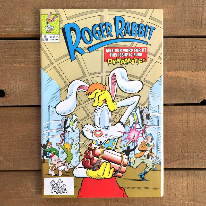 Who Framed ROGER RABBIT Roger Rabbit Comics 10/ロジャーラビット コミック 10号/190315-8