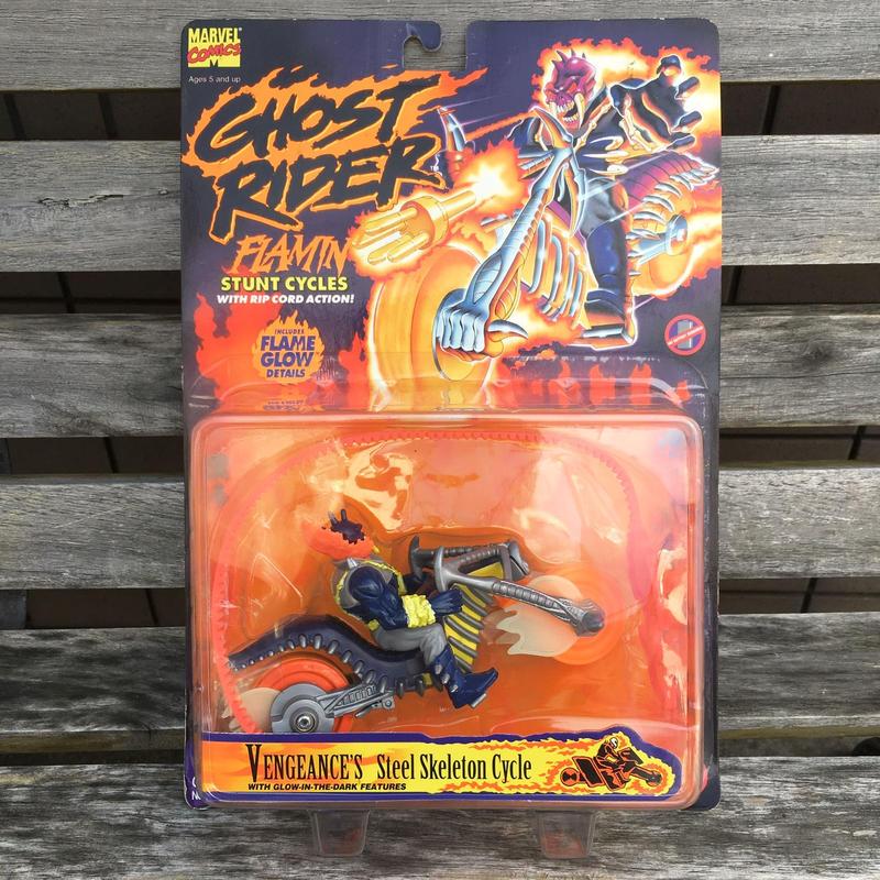 GHOST RIDER Vengeance's Steel Skeleton Cycle FIgure/ゴーストライダー ヴェンジェンス スティールスケルトンサイクル フィギュア/181001-7