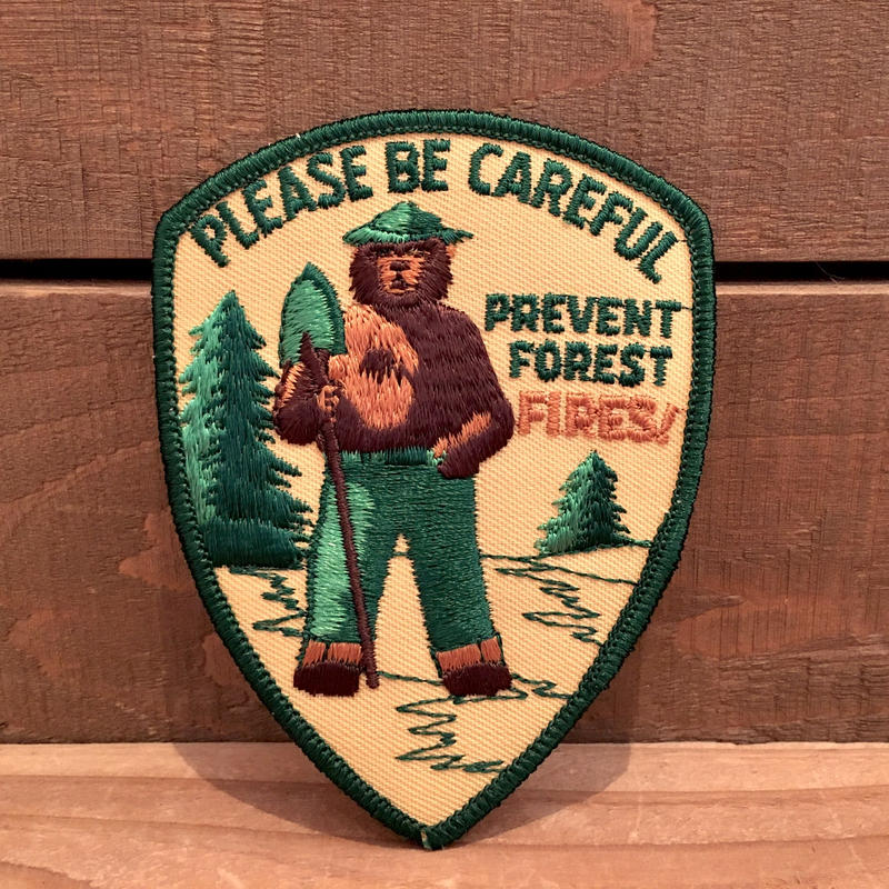SMOKEY BEAR Iron Patch/スモーキーベア アイロンパッチ/190118-7