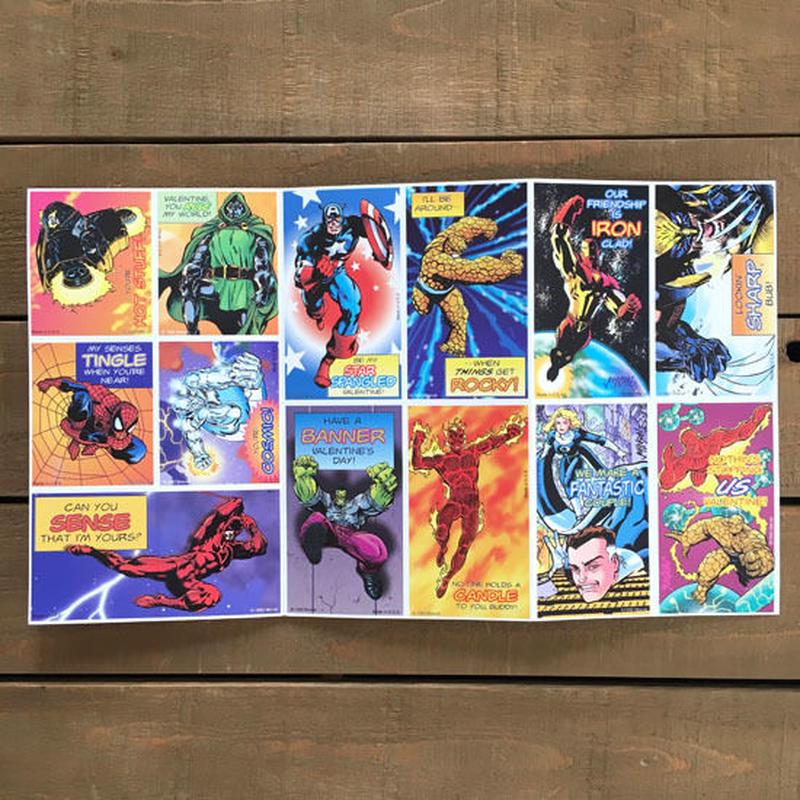 MARVEL Marvel Universe Valentine Card Set/マーベル マーベルユニバース バレンタインカード セット/190425-18