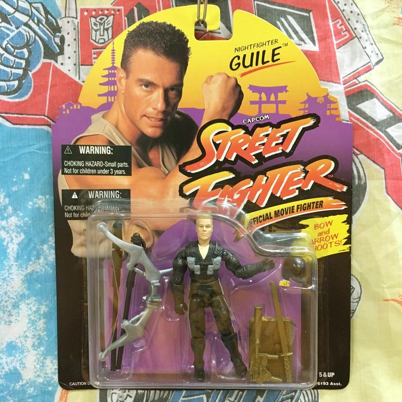 STREET FIGHTER Night Fighter Guile/ストリートファイター   ナイトファイター ガイル フィギュア/170321-2