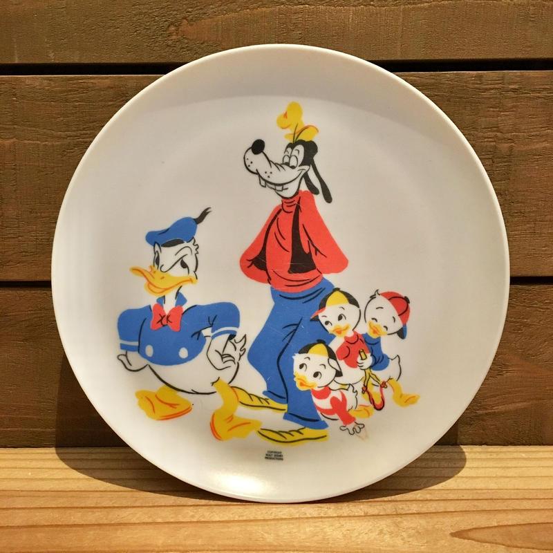 Disney Plastic Plate/ディズニー プラスチックプレート/190622-13
