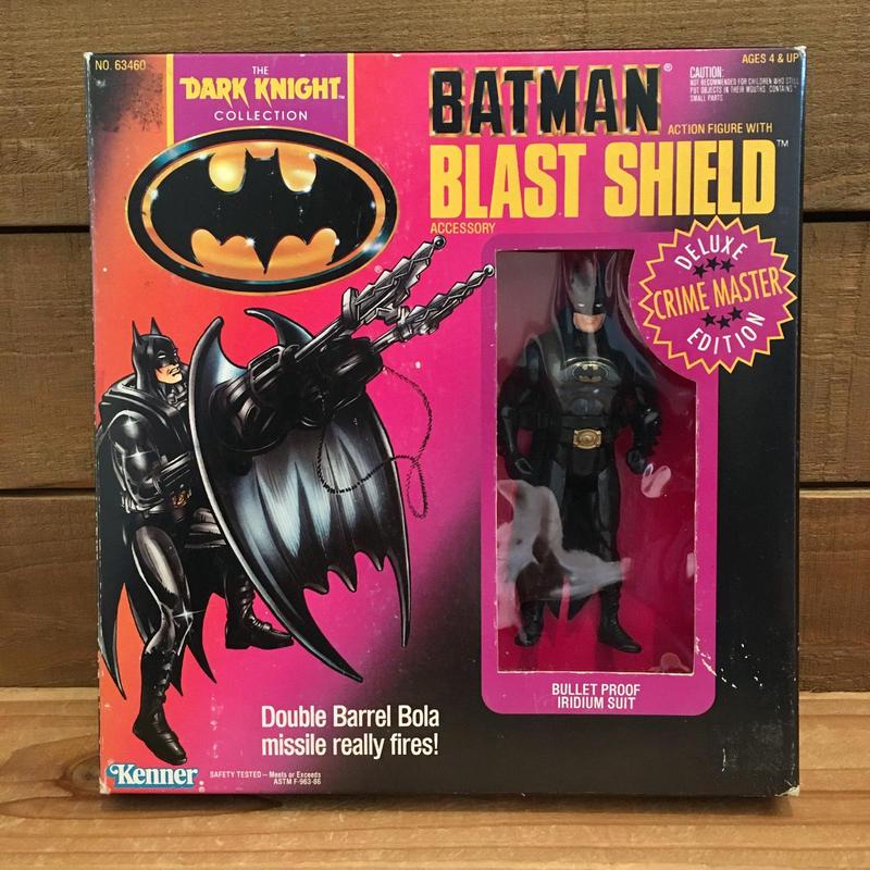 BATMAN Blast Shield Batman Figure/バットマン ブラストシールド・バットマン フィギュア/190129-10