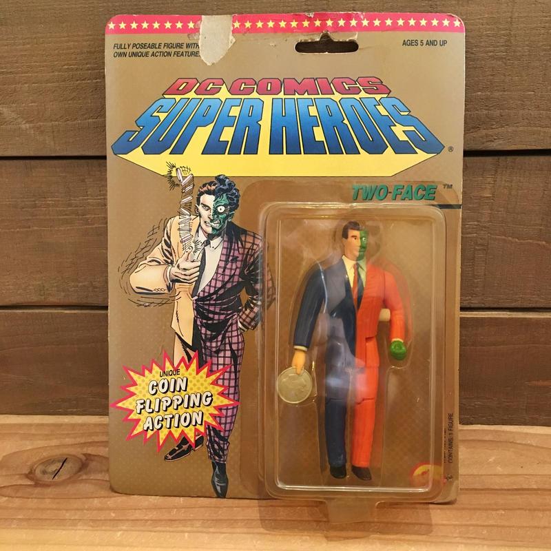 BAT MAN  DC Super Heroes Two Face Figure/バットマン DCスーパーヒーローズ トゥーフェイス フィギュア/190129-2