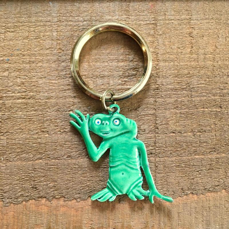 E.T. Bootleg Key Ring/E.T. ブートレグ キーホルダー/190311-4