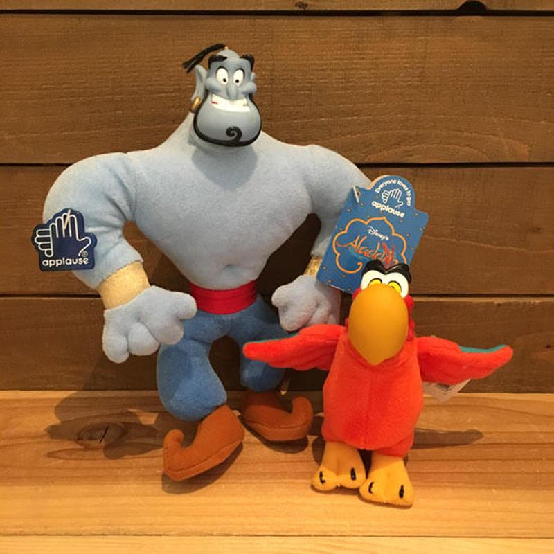 Aladdin Genie & Iago Plush Doll Set/アラジン ジーニー & イアーゴ ぬいぐるみドールセット/190719-7