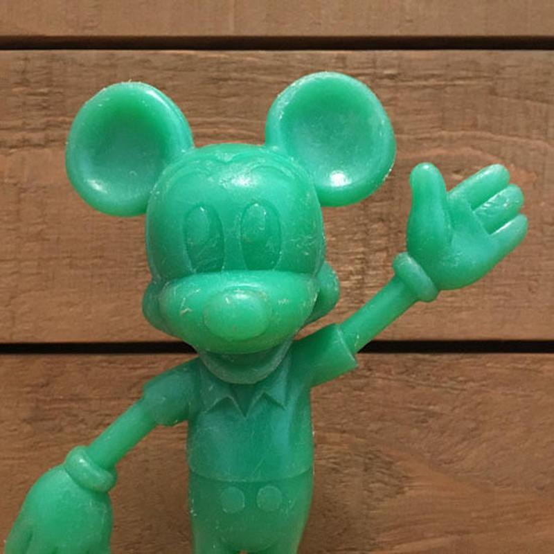 Disney Mickey Mouse Plastic Figure/ディズニー ミッキー・マウス プラスチックフィギュア/190622-5