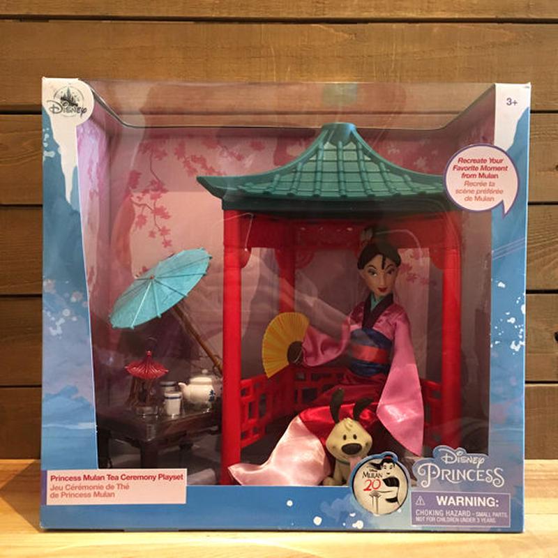 MULAN Tea Ceremony Doll Plya Set/ムーラン ティーセレモニー ドール プレイセット/190106-9