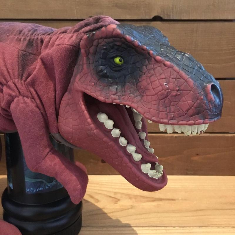 JURASSIC PARK T-Rex Hand Puppet/ジュラシックパーク ティラノサウルス ハンドパペット/180822-8