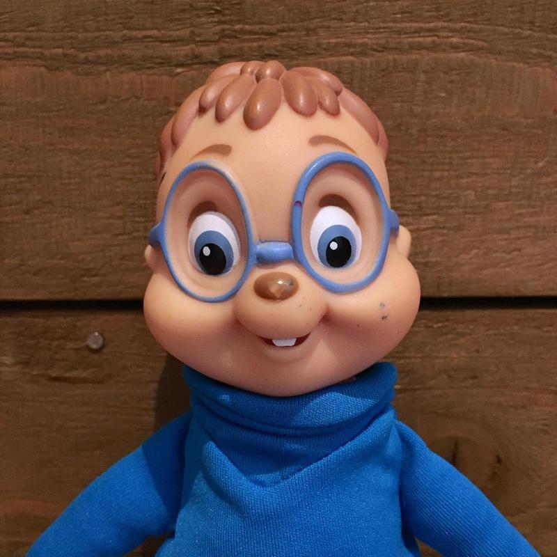 Alvin and the Chipmunks Simon Plush Doll/アルビンとチップマンクス サイモン ぬいぐるみ/190625-10