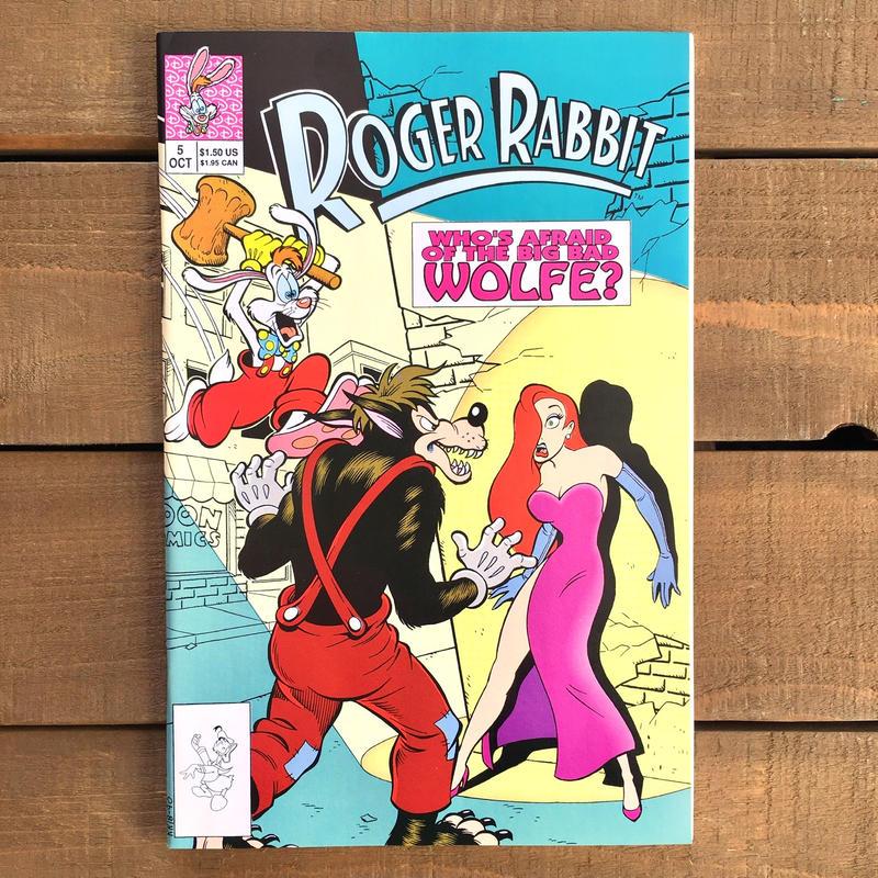 Who Framed ROGER RABBIT Roger Rabbit Comics 5/ロジャーラビット コミック 5号/190315-3