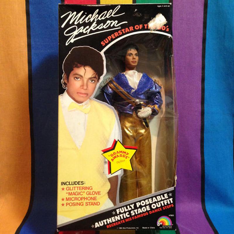 MICHAEL JACKSON Michael Jackson Grammy Awards Doll/マイケル・ジャクソン グラミーアワードドール/151228-1