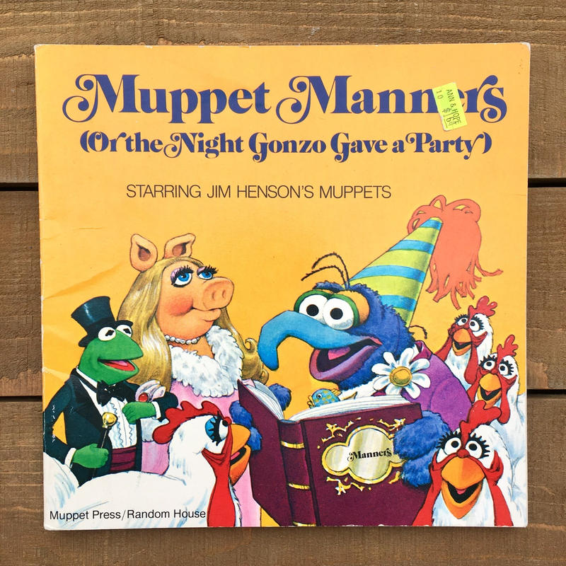 THE MUPPETS Picture Book/マペッツ 絵本/190216-6