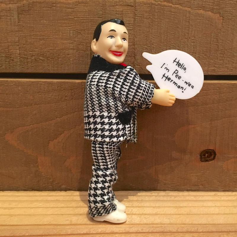 THE PEE-WEE HERMAN Pee Wee Clip Doll/ピーウィー・ハーマン ピーウィー クリップドール/190221-7