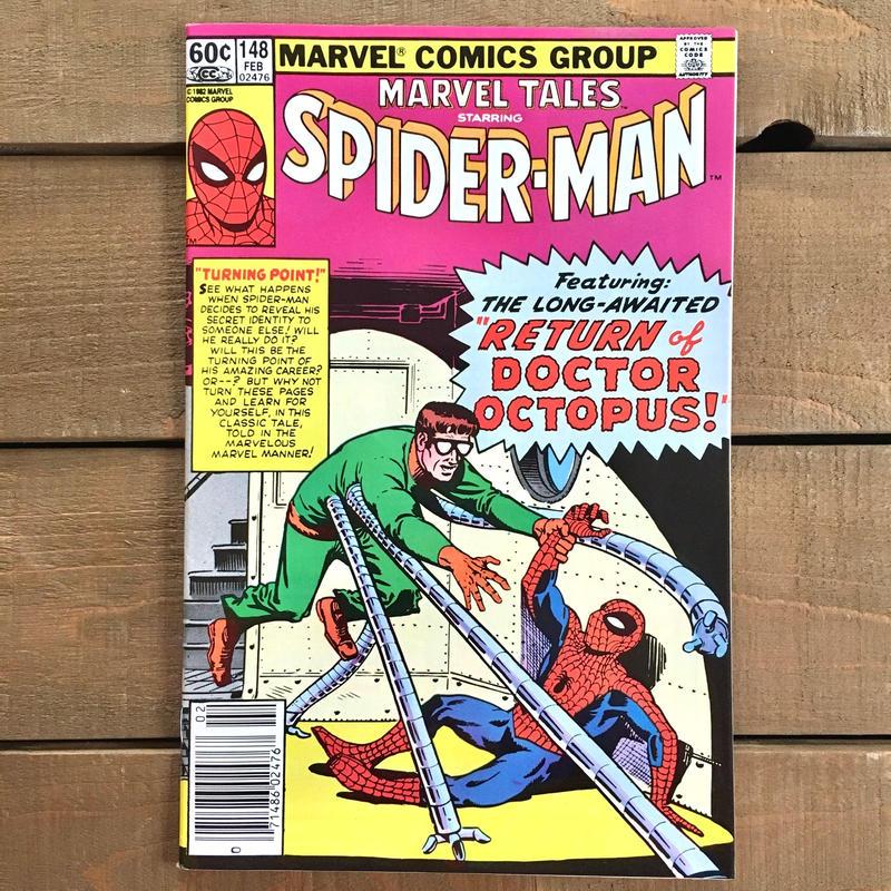 SPIDER-MAN Spider-man Comics 1982.Feb.148/スパイダーマン コミック 1982年2月148号/190228-8